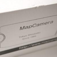 マップカメラから届いた箱