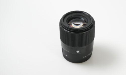 新アイテムSIGMA 30mm F1.4 DC DN